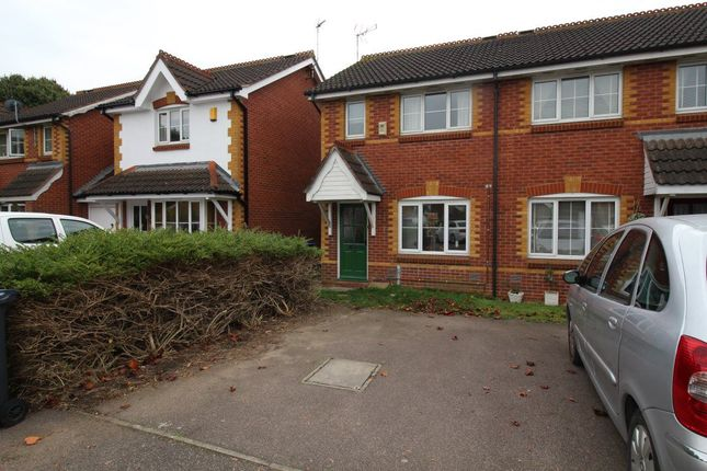 Thumbnail Semi-detached house to rent in Bronte Close, Rugby