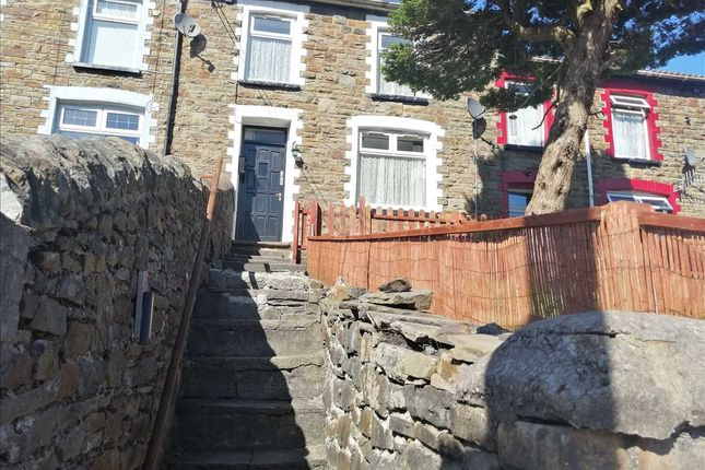 Front of Howard Street, Clydach Vale, Tonypandy CF40