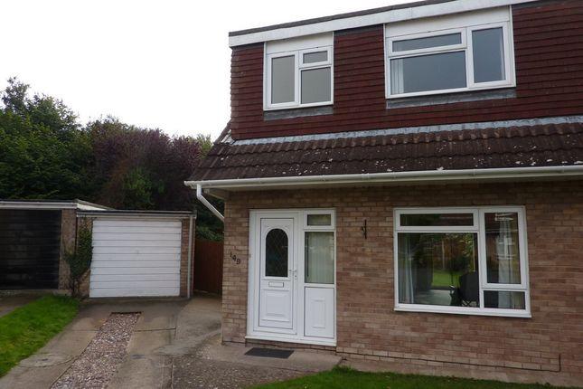 Thumbnail Semi-detached house to rent in Lythwood Road, Bayston Hill, Shrewsbury