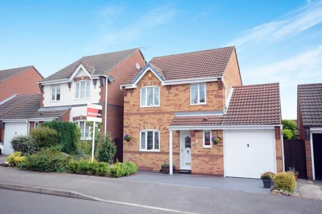 Thumbnail 3 bed detached house for sale in Oakleigh Avenue, Mansfield Woodhouse, Mansfield, Nottinghamshire