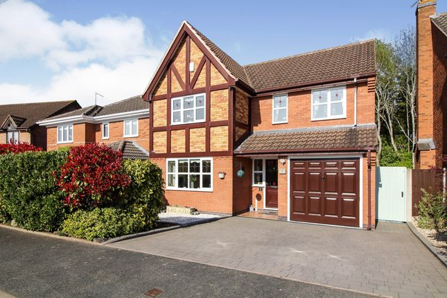 4 bed detached house for sale in Hawkley Row, Warndon, Worcester WR4