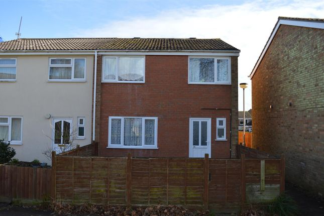 Thumbnail End terrace house for sale in Middlewood, King's Lynn