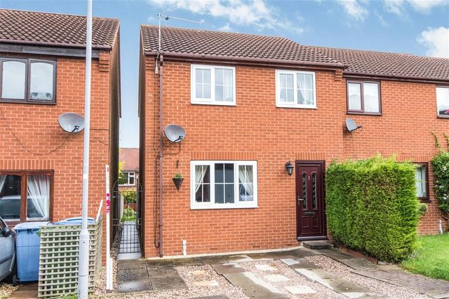 Thumbnail Semi-detached house for sale in Machin Close, Tuxford, Newark