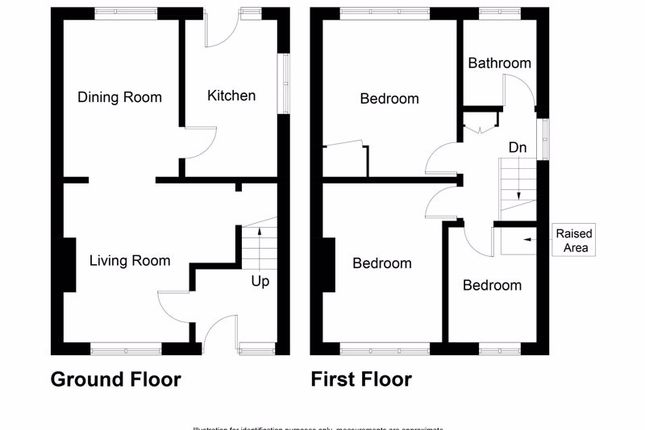 Floor Plan of Duddingston Drive, Kirkcaldy KY2