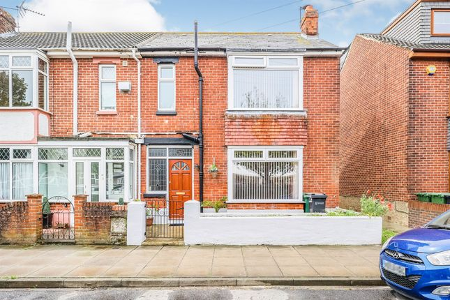 Thumbnail End terrace house for sale in Stride Avenue, Portsmouth