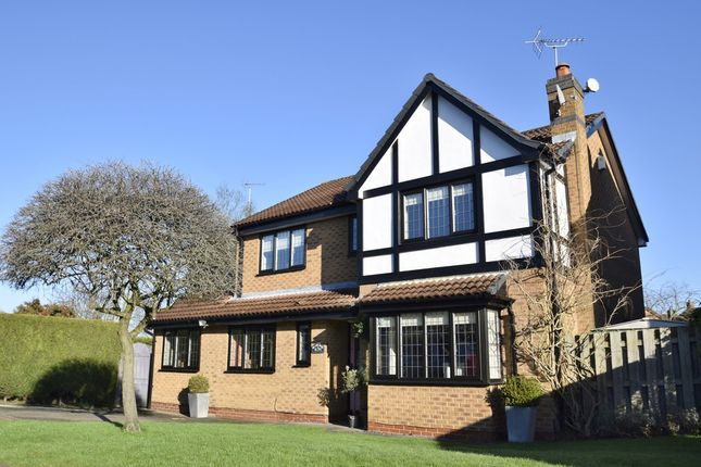 Thumbnail Detached house for sale in Lyme Park, West Bridgford