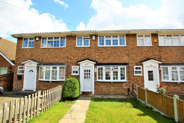 Thumbnail 3 bedroom terraced house to rent in Lodge Lane, Collier Row, Romford