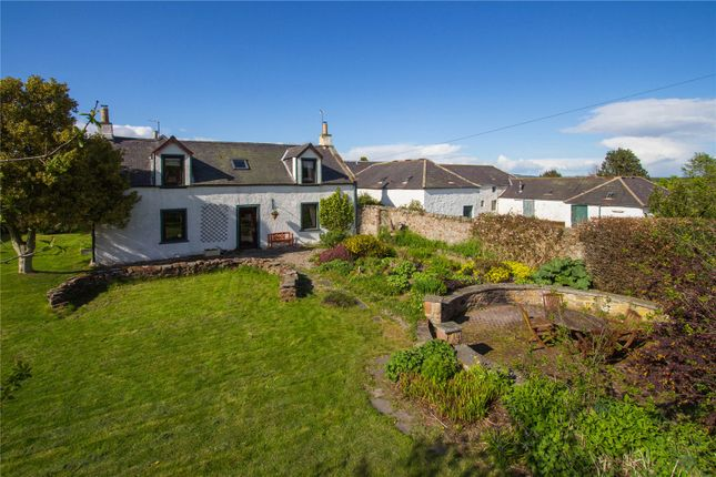 Thumbnail Detached house for sale in Tobees Farmhouse, Oathlaw, By Forfar, Angus