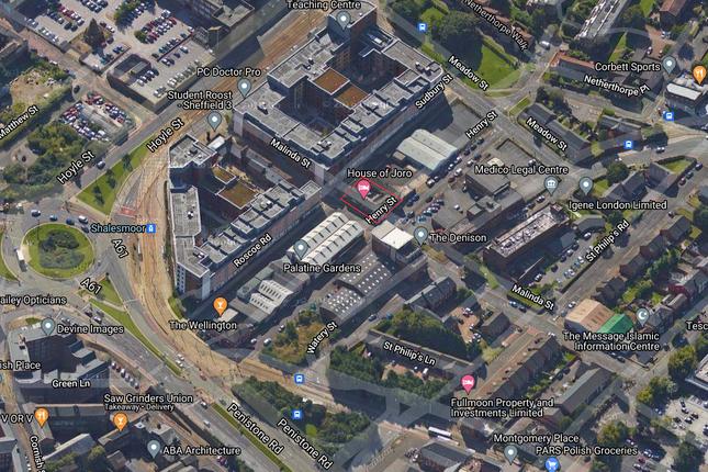 Thumbnail Land for sale in Malinda Street, Sheffield
