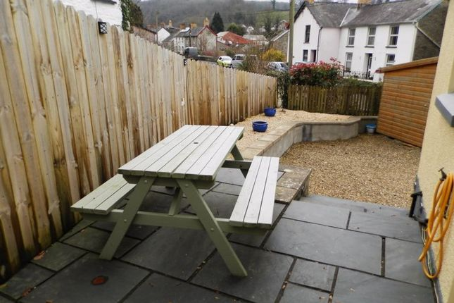 Rear Patio Area of Velindre, Llandysul SA44