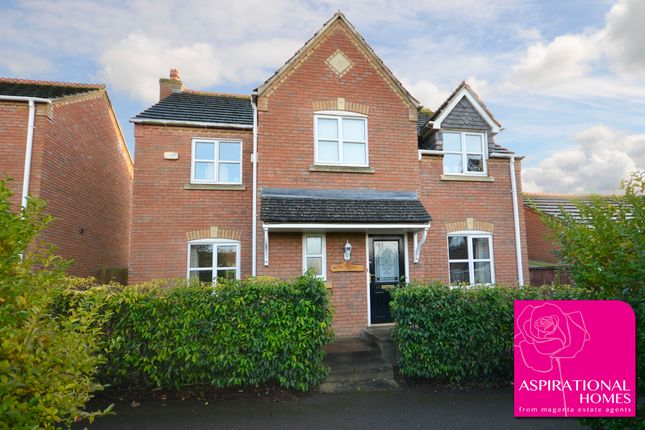 Thumbnail Detached house for sale in School Lane, Raunds