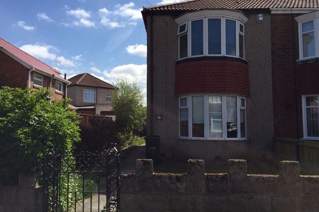 Thumbnail Terraced house to rent in Nidsdale Avenue, Newcastle