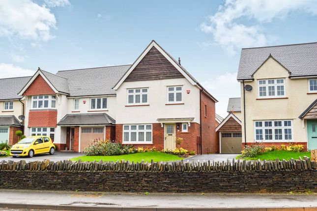 Thumbnail Detached house for sale in Manor View, Trelewis, Treharris