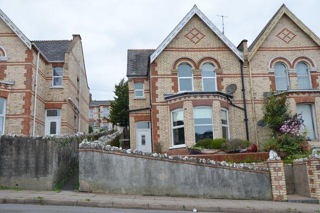 Thumbnail Semi-detached house for sale in Richmond Villas, Ilfracombe
