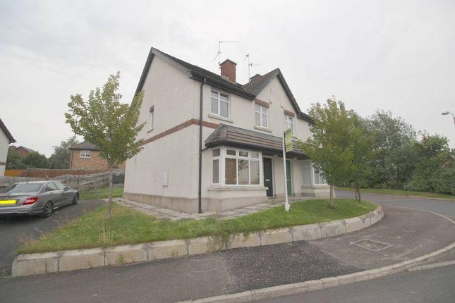Thumbnail Semi-detached house for sale in Baltylum Meadows, Portadown