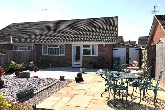 Thumbnail Semi-detached bungalow for sale in Nutley Avenue, Tuffley, Gloucester