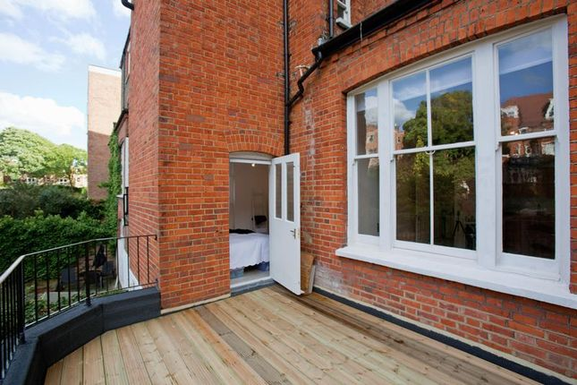 Roof Terrace of Fellows Road, London NW3