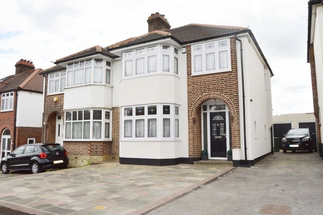 Semi-detached house for sale in Squirrels Heath Road, Harold Wood, Romford
