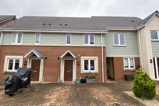 Thumbnail Terraced house to rent in Tylers Meadow, Torrington