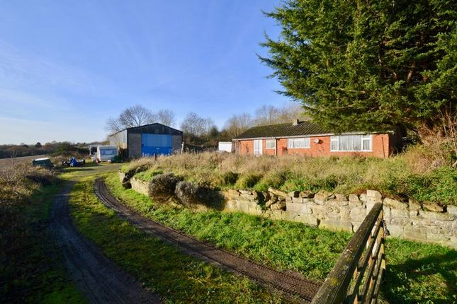 Thumbnail Detached bungalow for sale in Coppice Farm, Hipton Hill, Lenchwick, Evesham