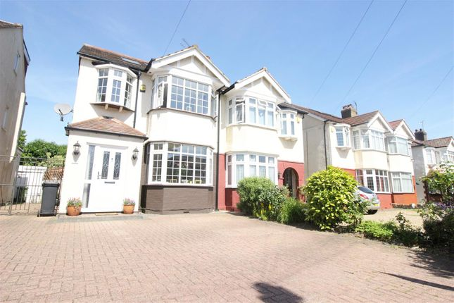 Thumbnail Semi-detached house for sale in Willow Road, Enfield