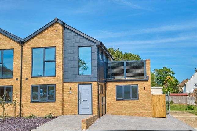 Thumbnail Semi-detached house for sale in Chichester Road, Seaford