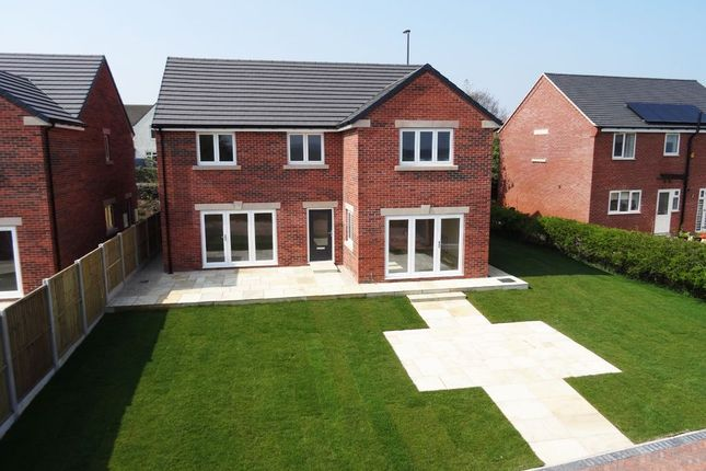 Thumbnail Detached house for sale in Top Farm, Main Road, Stretton, Derbyshire