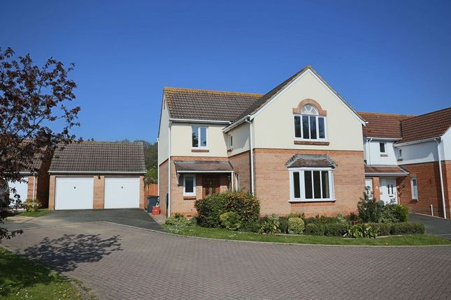 4 bed detached house for sale in Coleridge Close, Exmouth