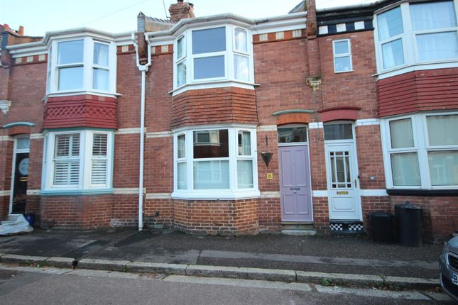 Thumbnail Terraced house to rent in Cedars Road, St Leonards, Exeter