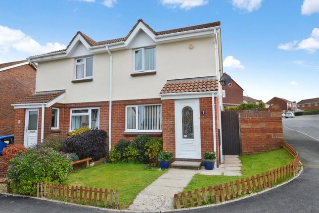 Thumbnail Semi-detached house for sale in Smallridge Close, Staddiscombe, Plymouth, Devon