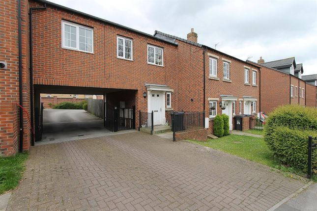 Thumbnail Town house for sale in Carr Vale Road, Bolsover, Chesterfield