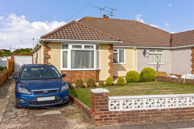 Thumbnail Semi-detached bungalow for sale in Stonehurst Road, Worthing
