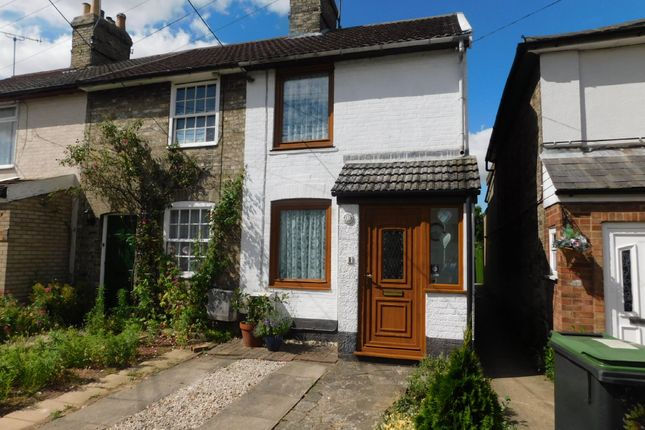 2 bed end terrace house for sale in Bridge Street, Stowmarket