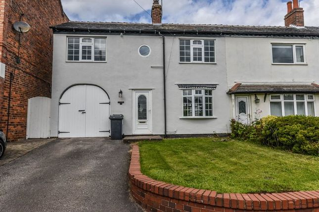 Thumbnail Semi-detached house to rent in Bar Hill, Madeley, Crewe
