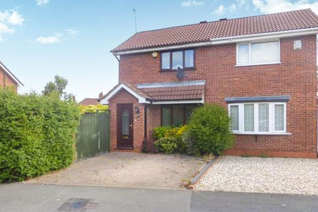 Thumbnail End terrace house for sale in Best Street, Cradley Heath