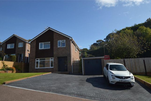 Thumbnail Detached house for sale in Tuckers Meadow, Crediton, Devon