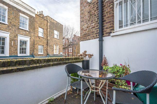Roof Terrace of Cross Street, Islington, London N1