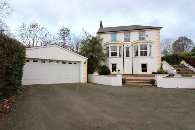 Thumbnail Detached house for sale in Summerfield Hall Lane, Maesycwmmer