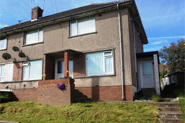 Thumbnail Flat to rent in Heol Tegfryn, Pyle, Bridgend