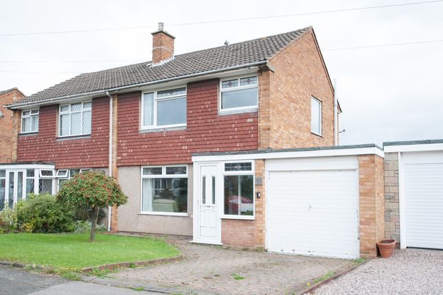 Thumbnail Semi-detached house for sale in Mildenhall, Tamworth