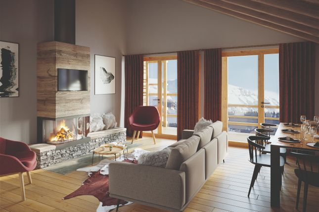 Interior Example of Alpe D'huez, Isere, France