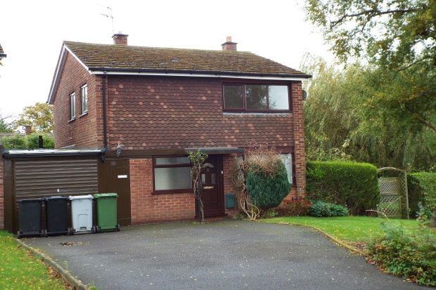 Thumbnail Detached house to rent in Tranmere Drive, Handforth, Wilmslow