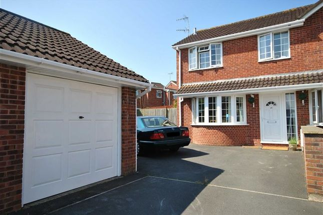 Thumbnail Semi-detached house for sale in Cross Close, Fremington, Barnstaple