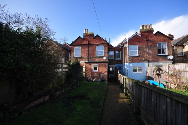 Thumbnail Terraced house to rent in Grange Road, East Cowes