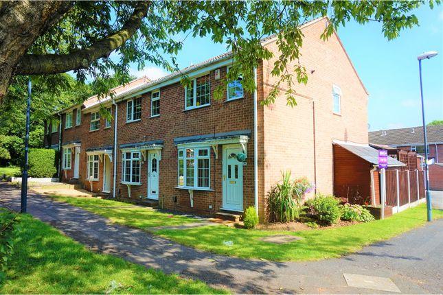 Thumbnail End terrace house for sale in Burdock Close, Oakwood