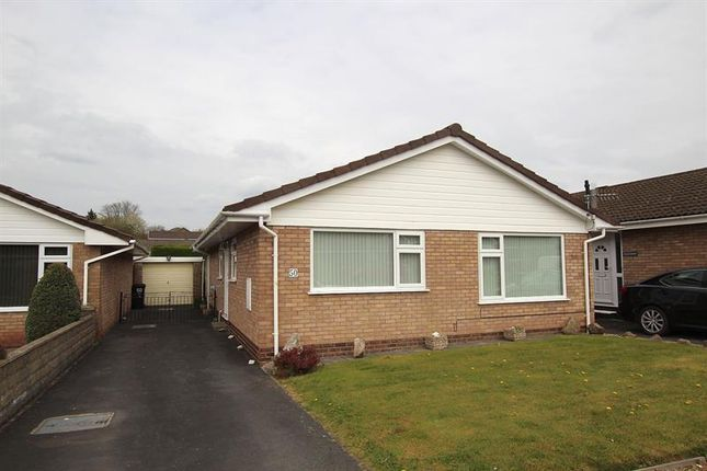 Thumbnail Detached bungalow to rent in Pendre Gardens, Brecon