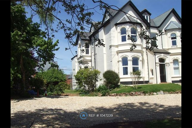 1 bed flat to rent in Salterton Road, Exmouth EX8
