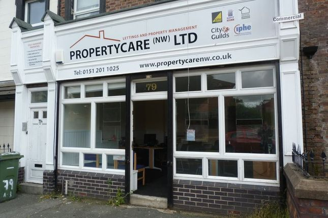 Commercial property to let in Grove Road, Rock Ferry, Birkenhead