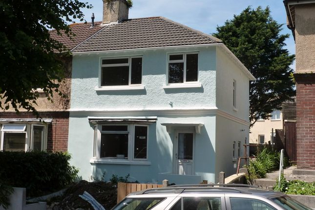 Thumbnail Semi-detached house for sale in Halcyon Road, Plymouth