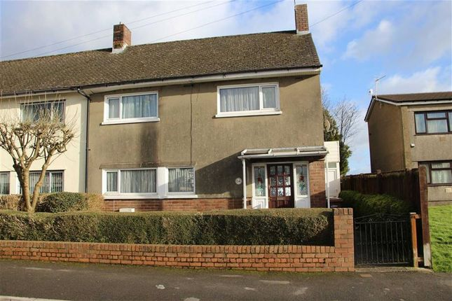 Thumbnail Semi-detached house for sale in Heol Trecastell, Caerphilly